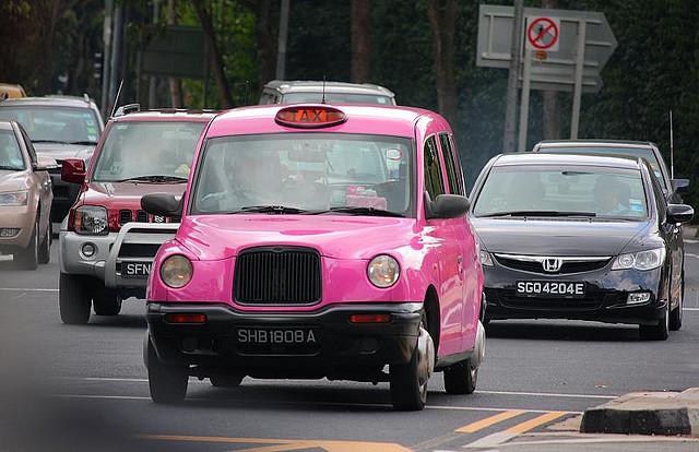 ვარდისფერი ტაქსი