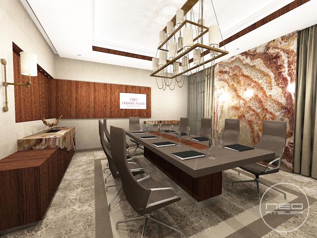 The VIP meeting room