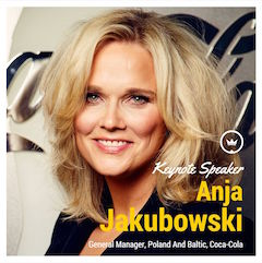 Anja Jakubowski from Coca-Cola